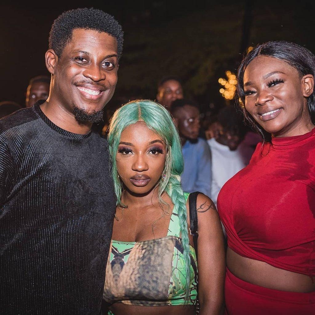 Seyi Awolowo and friends