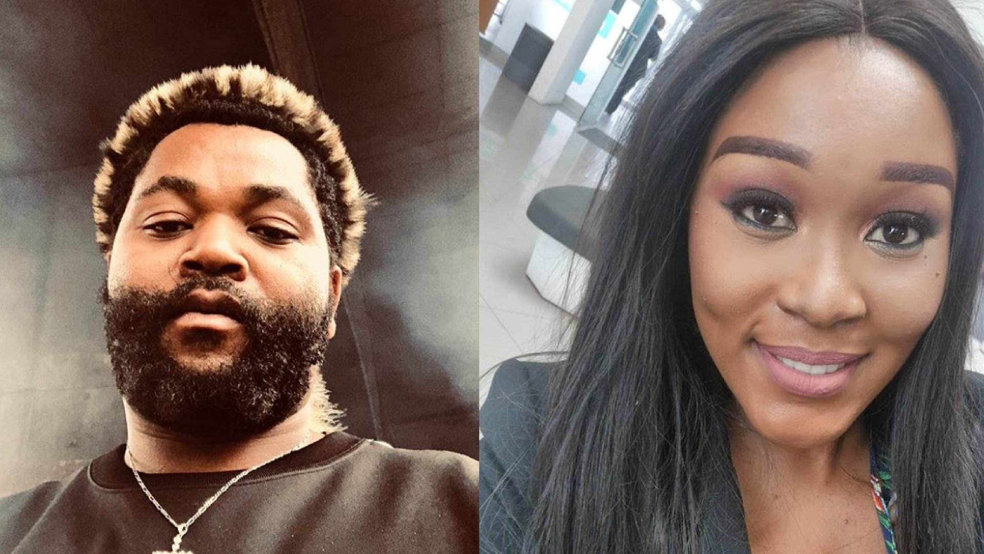 South African singer, Sjava and ex-girlfriend, Lady Zamar