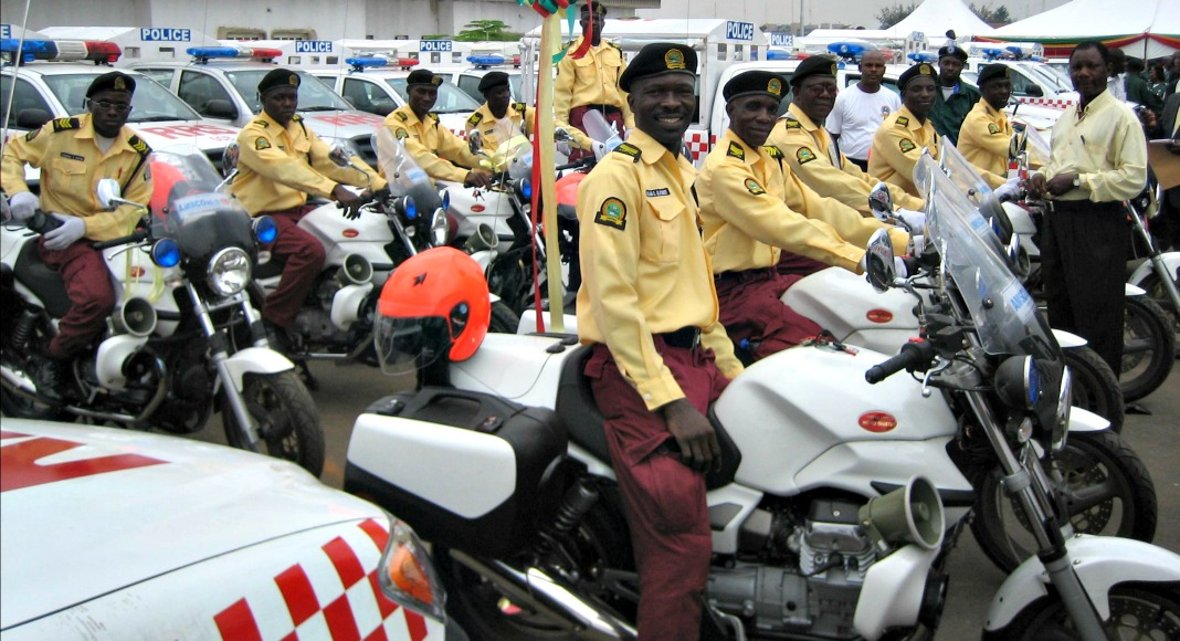 Lagos State Traffic Management Authority officials
