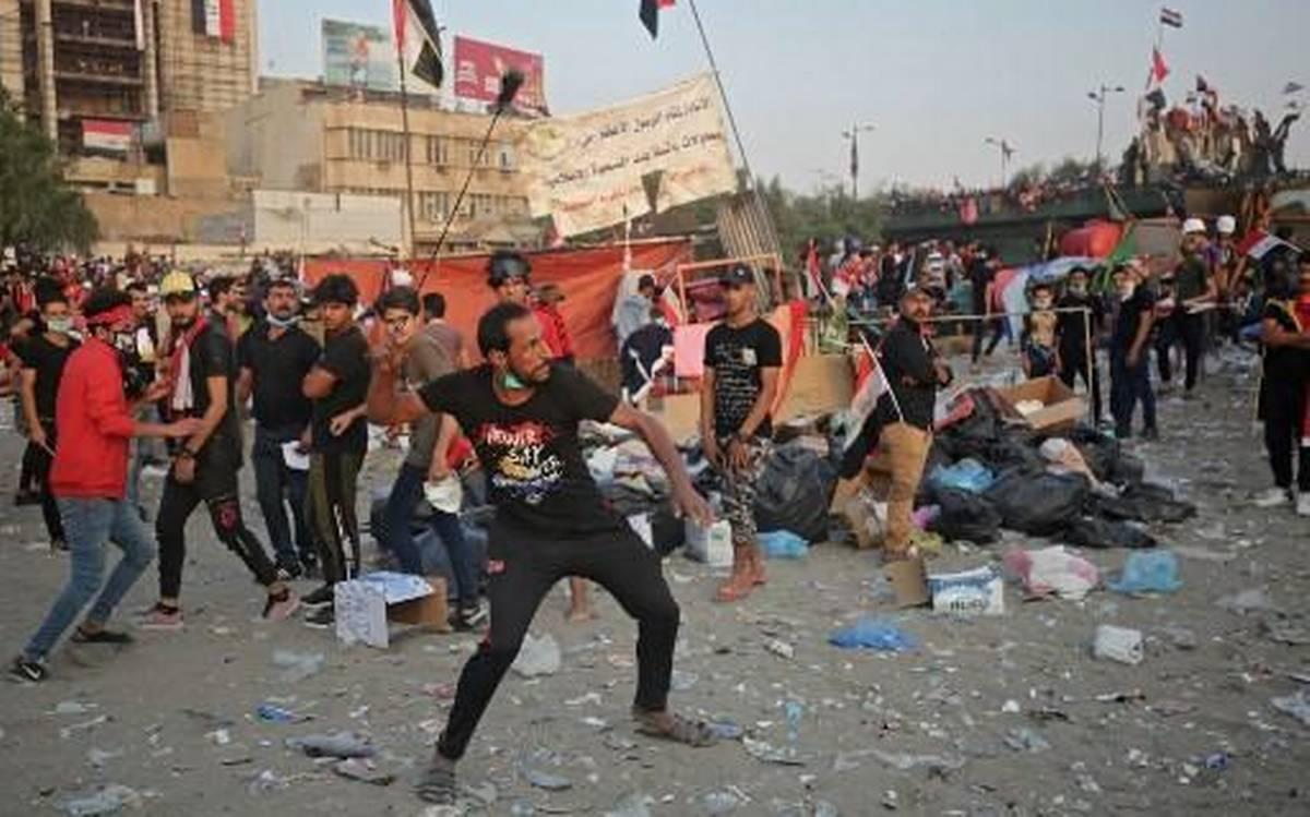Iraqi protest