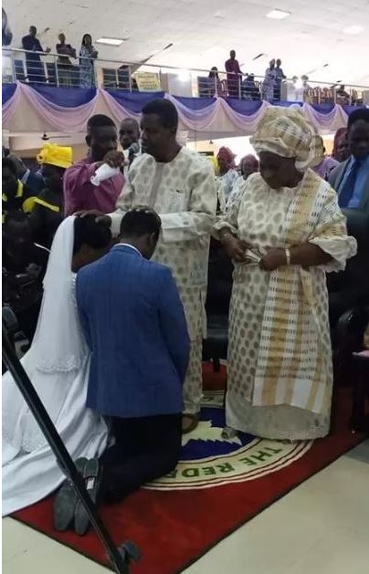 Joshua Mike-Bamiloye  marries