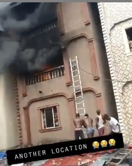 Lagos Island fire