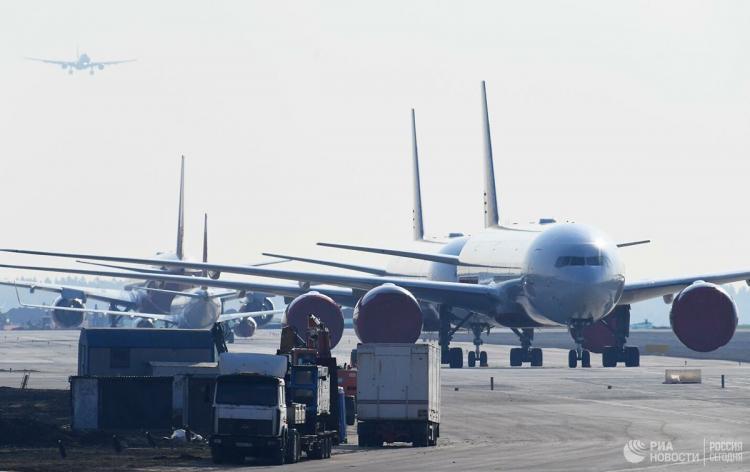 Boeing 777 emergency landing