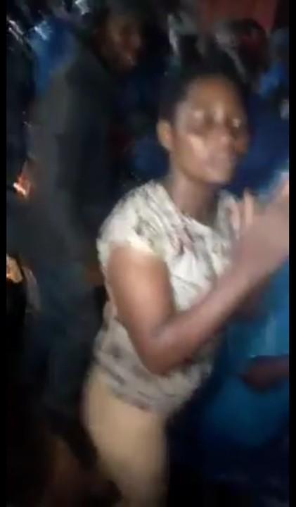 Girl runs mad in Delta