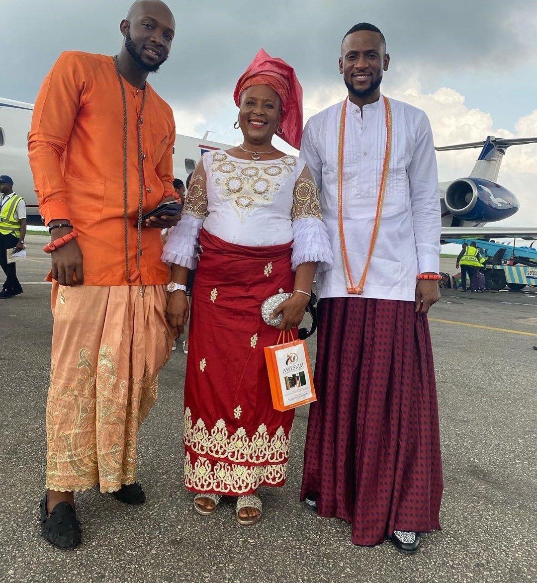 BBNaija stars in Warri