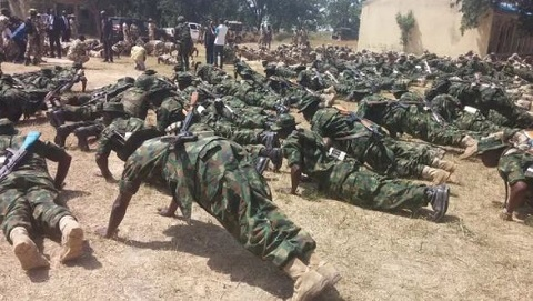 File photo; Nigerian Army