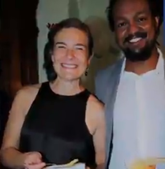 Yonathan Tedla and Jennifer Schlecht