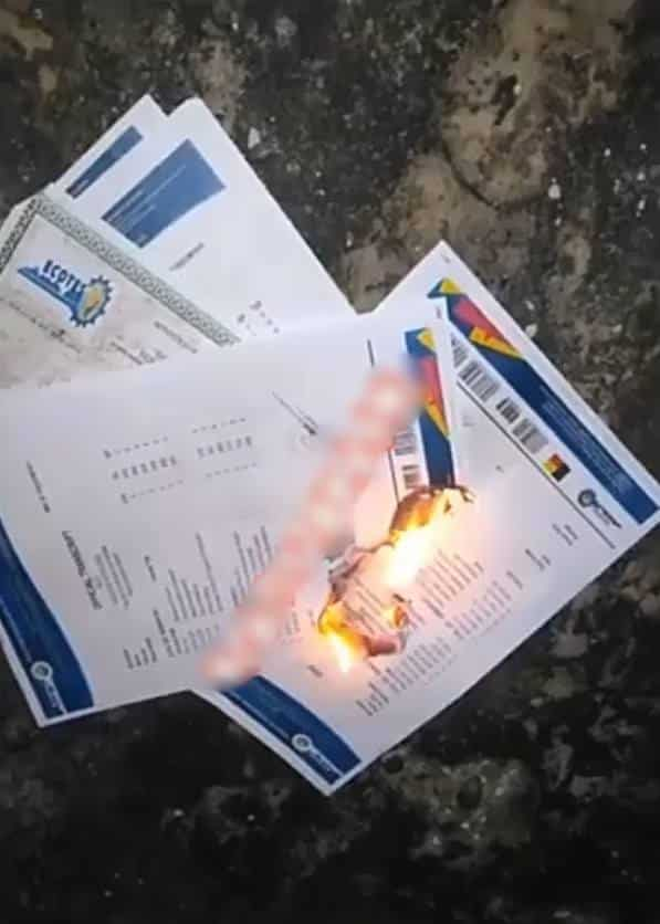 Burnt certificates