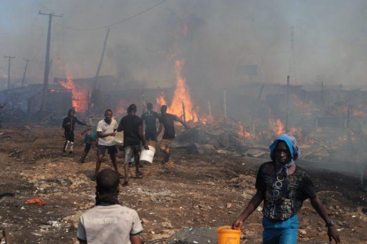 Oko-Baba Sawmill fire