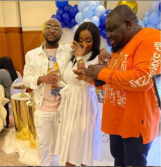 Davido's son naming ceremony
