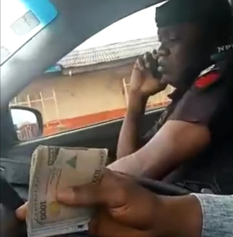 bribe-taking officer