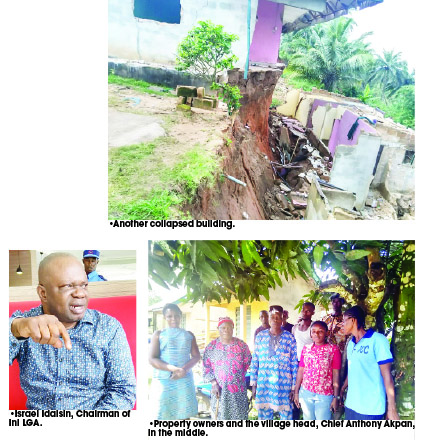 mysterious land movement Akwa Ibom