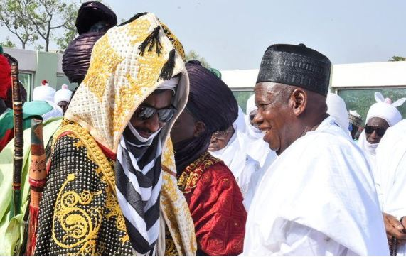 Emir of Kano, Muhammad Sanusi II, Governor Umar Ganduje