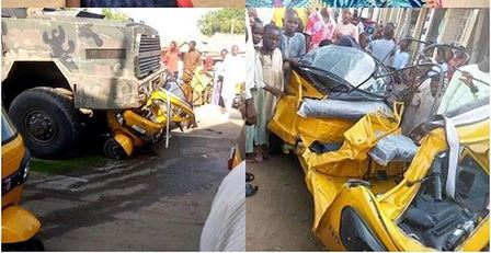 Hussaina Baffa Bello killed in accident