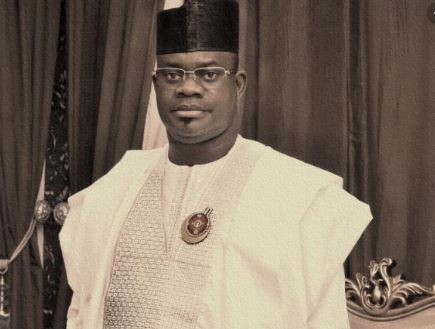 Kogi State Governor, Yahaya Bello,
