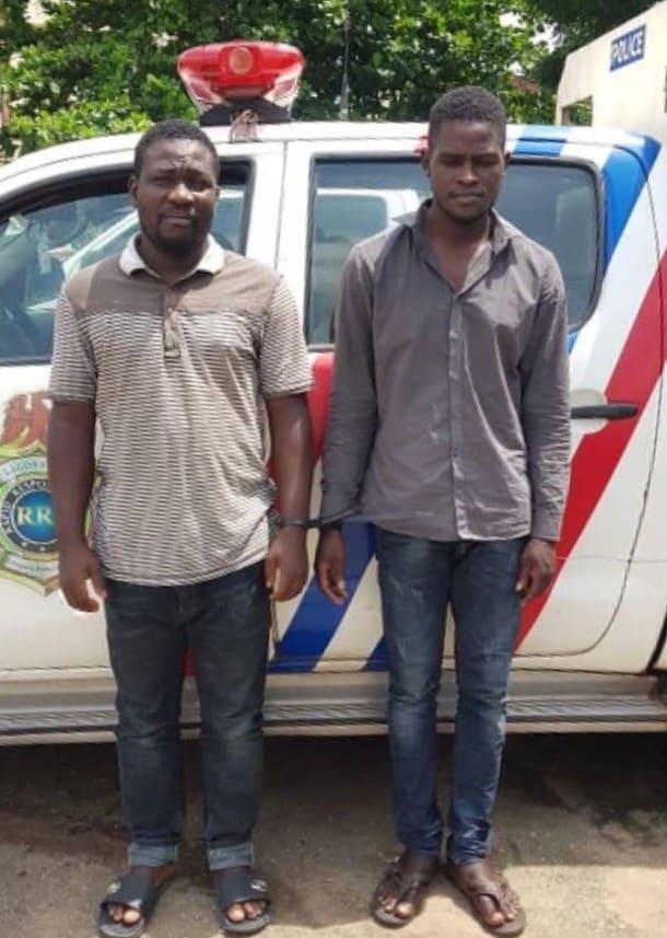Alex Obinyan and Ayuba Samson