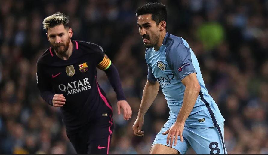 Gundogan on Messi