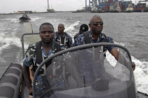 Nigerian navy rescues kidnap victims