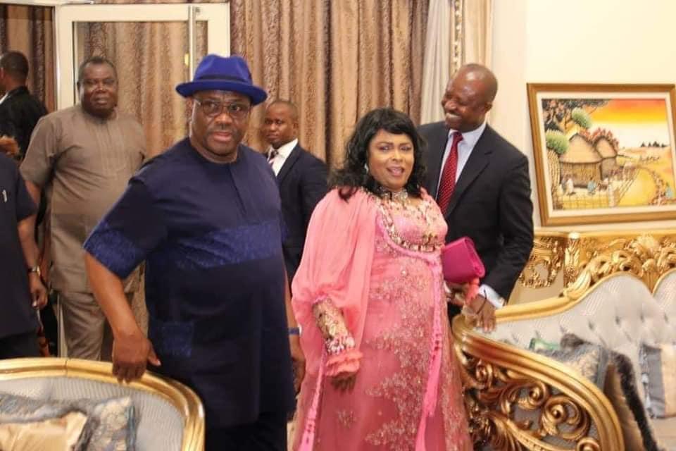 Goodluck Jonathan visit Wike