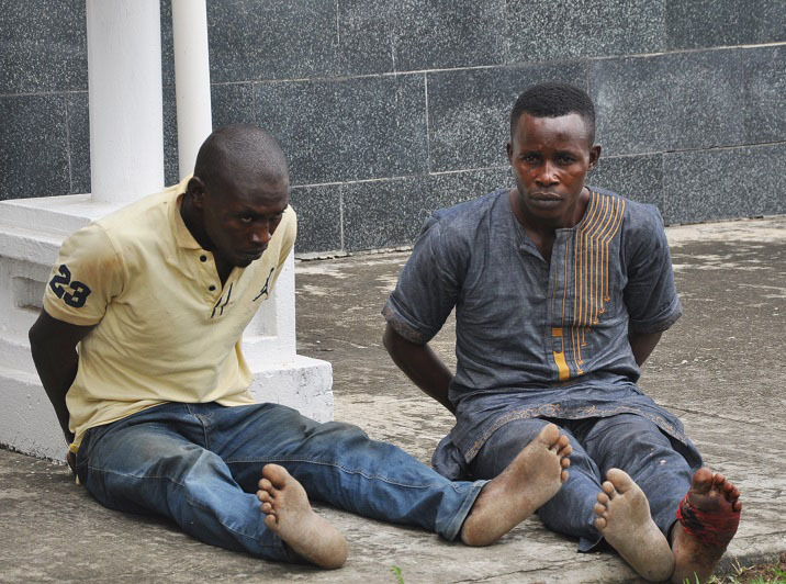 Kidnappers of Oniba of Iba