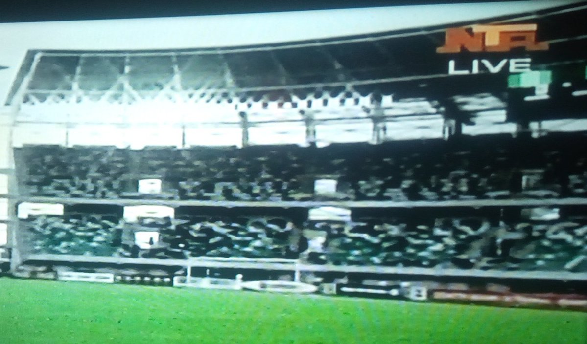 Nta's coverage of Nigeria vs Benin yesterday