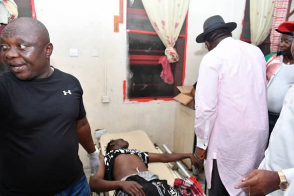 Those injured during the bloody encounter in Bayelsa