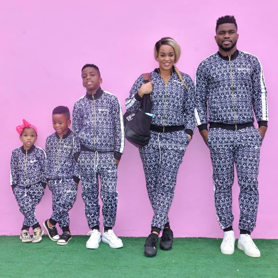 Joseph Yobo and family