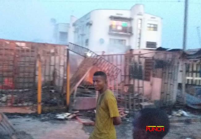 Iju Ishaga fire