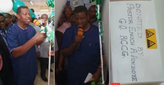 Pastor Enoch Adeboye,