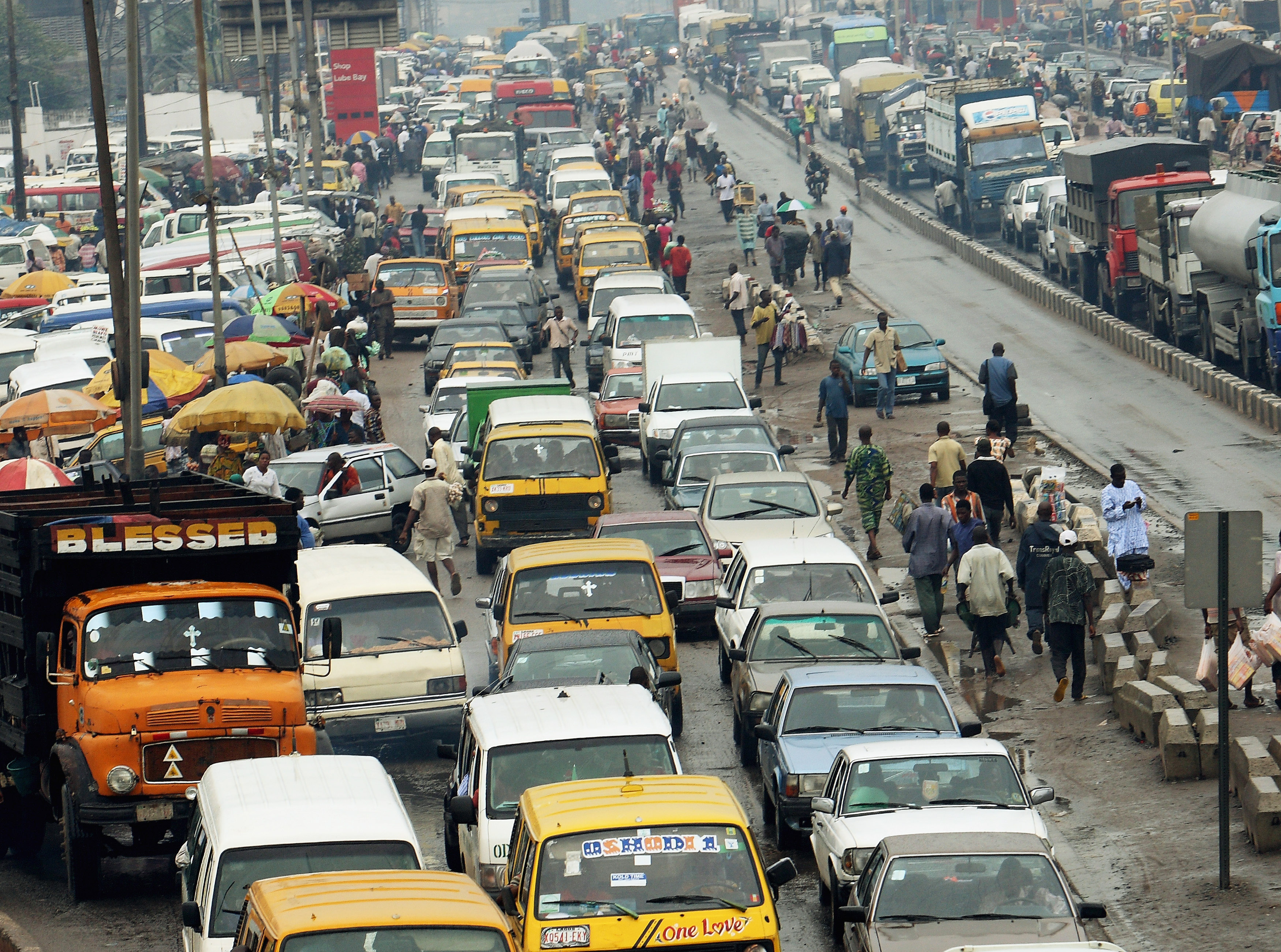 pastor arrested in Lagos traffic