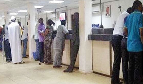 fraudster in banking hall