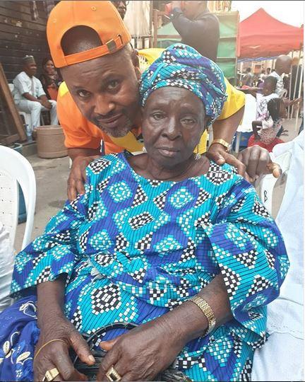 Saidi Balogun's mother dies