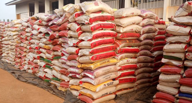 Rice price rises