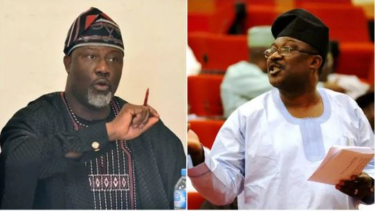 Dino Melaye and Smart Adeyemi