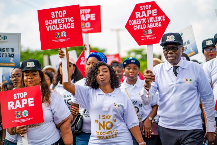 Sanwo-Olu walk against violence