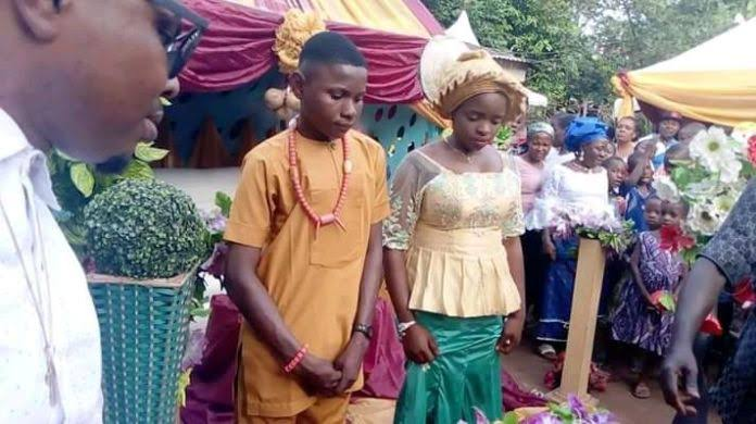 The young couple got married in Anambra