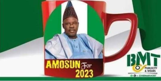 Former governor Ibikunle Amosun