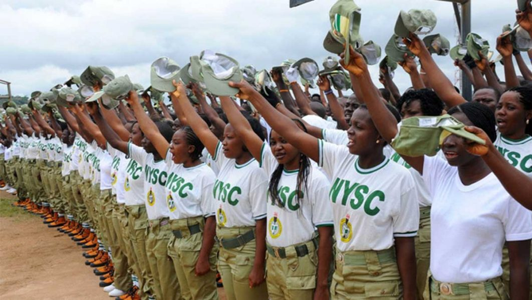 student serves in NYSC member