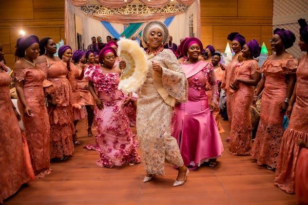 Asoebi-weddings