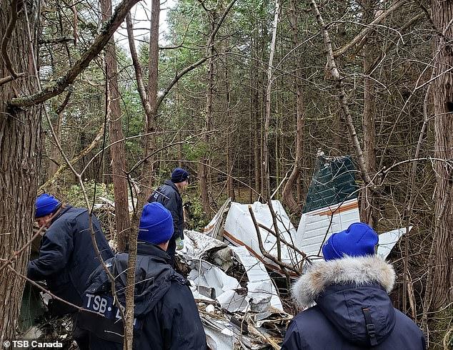 Plane crash Canada
