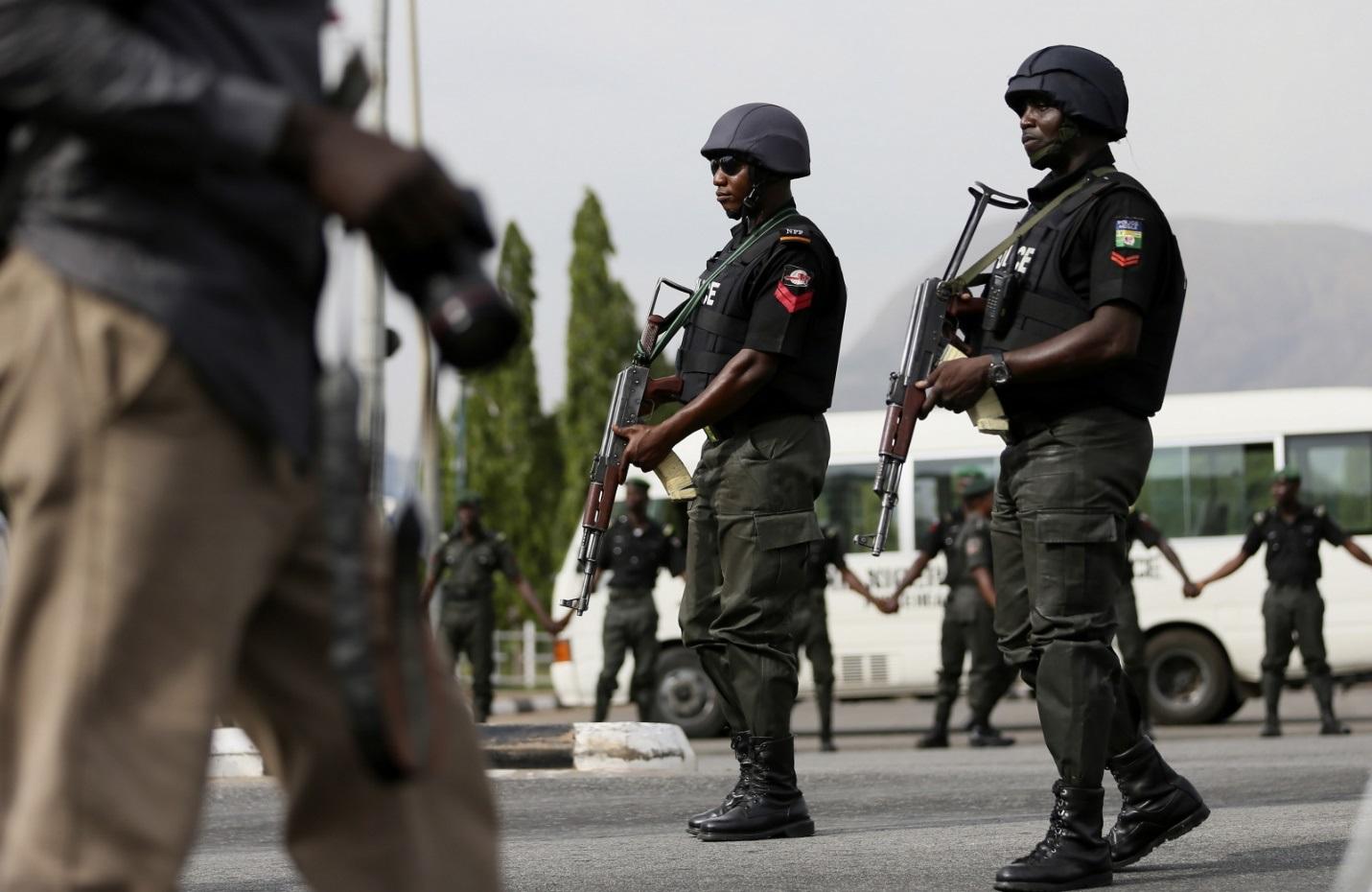 policeman arrested