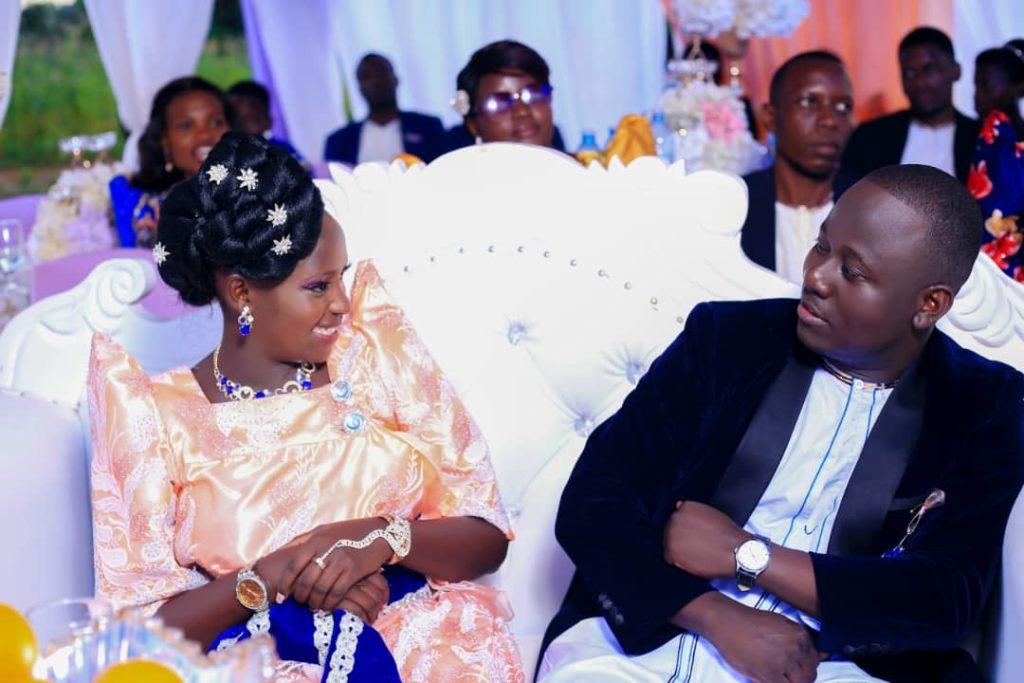 Annet Nakabonye and Jacob Luwo