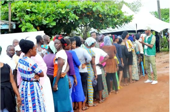 Voting in Kogi