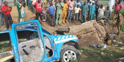 FRSC accident scene