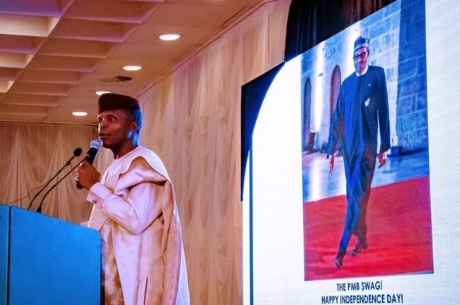 Osinbajo at State Banquest  Hall