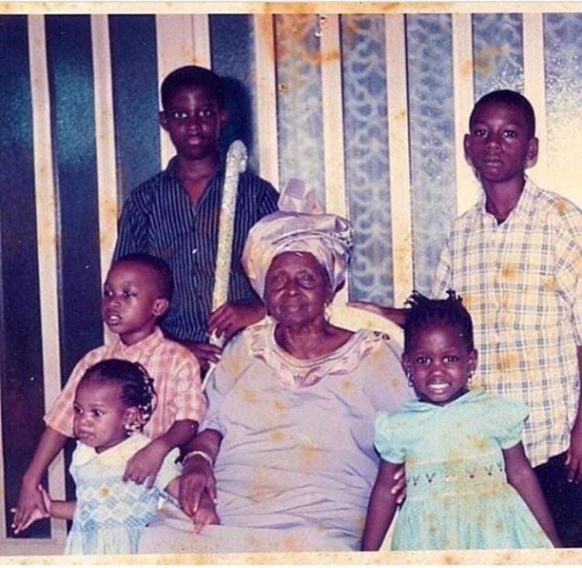 Seyi Awolowo Throwback Photo