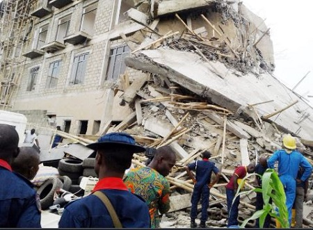 File photo: Building collapse