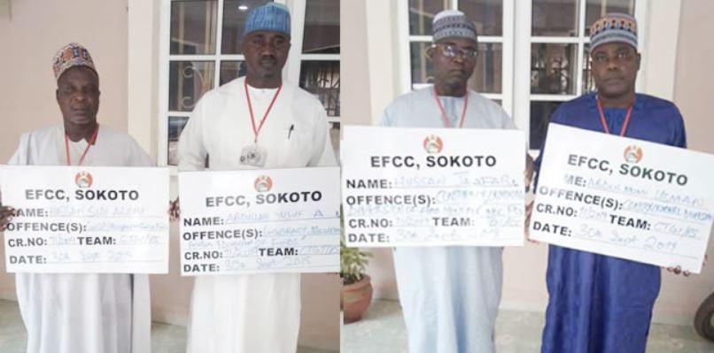Zamfara INEC officials arrested by EFCC