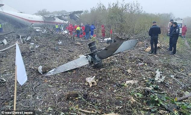 Ukrainian plane crashes