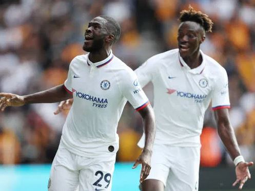 Chelsea's Tammy Abraham and Fikayo Tomori